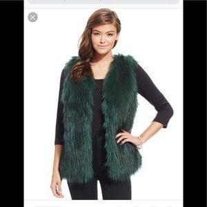 Jessica Simpson Faux Fur Vest
